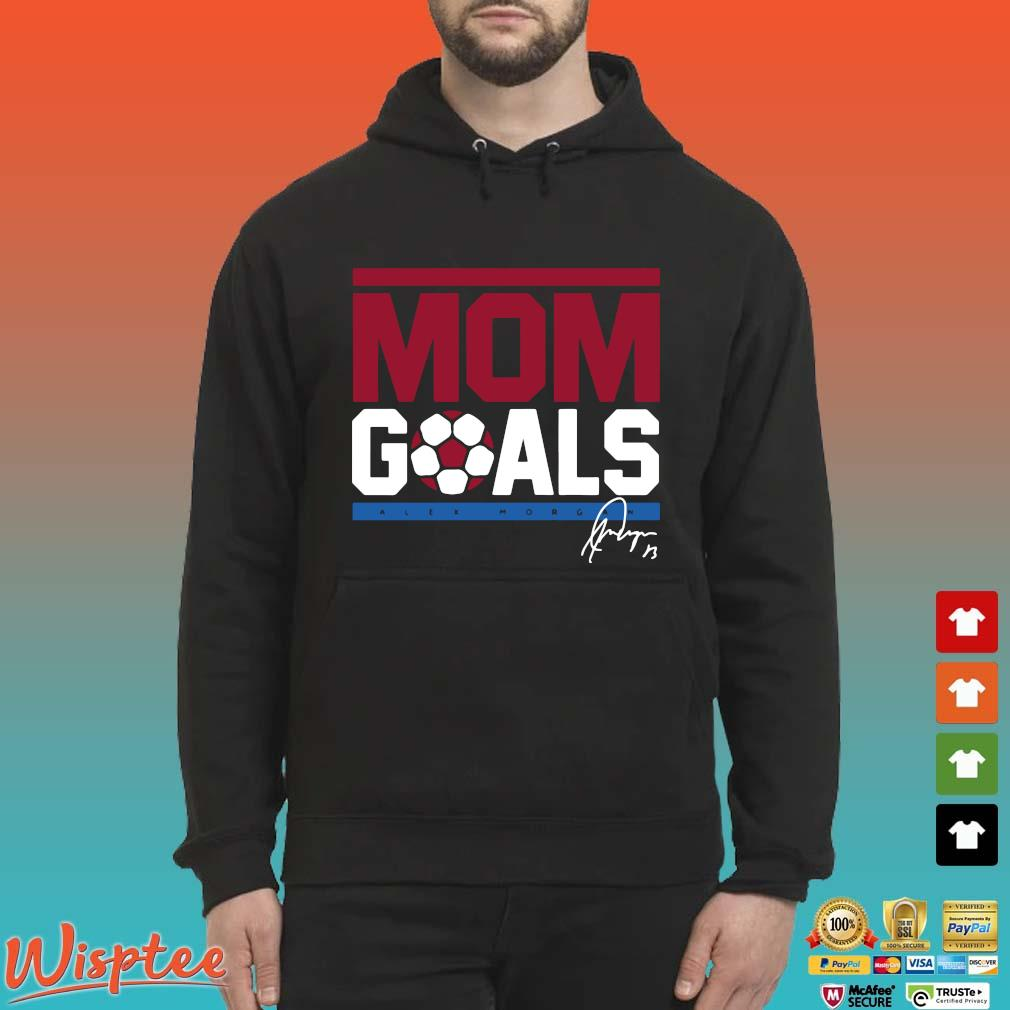 Alex Morgan Mom goals signatures s Hoodie den