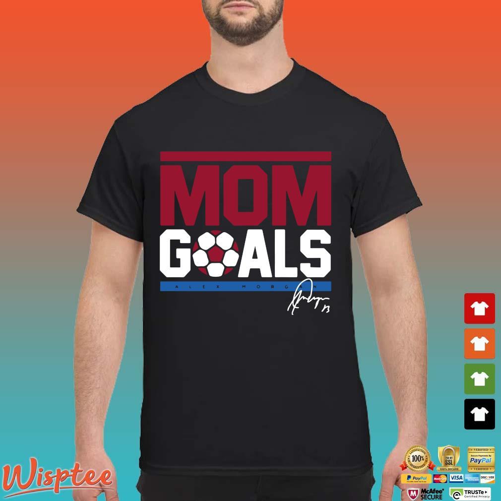 Alex Morgan Mom goals signatures shirt