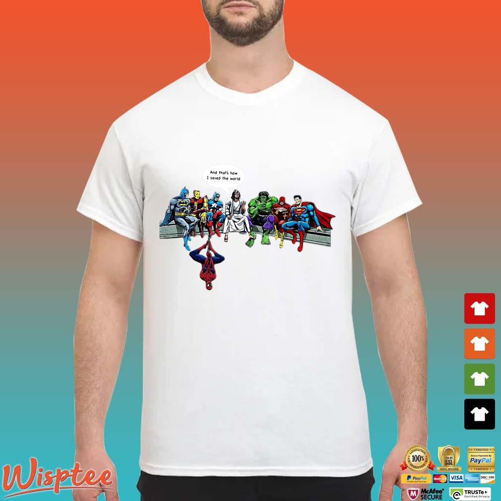 DC Hero and that's how I saved the word shirt