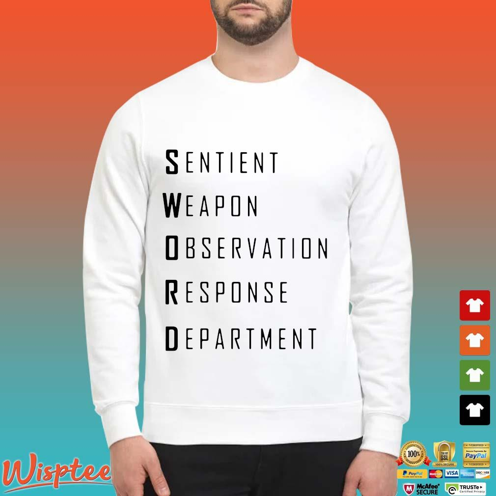Sword sentient weapon observation response department Sweater trang