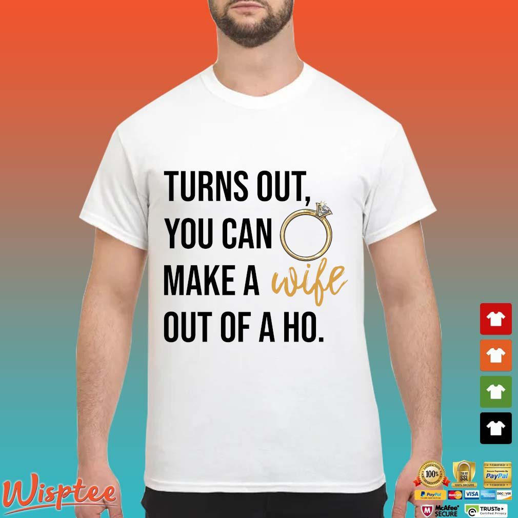 Turns out you can make a out of a ho shirt