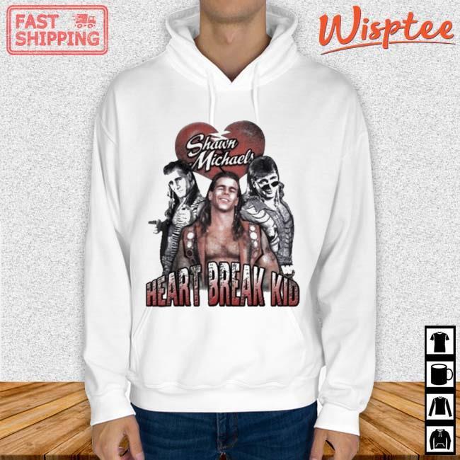 Heart Break Kid Shawn Michaels Vaporware Wrestling WOO Shirt hoodie trang