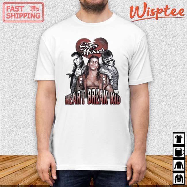 Heart Break Kid Shawn Michaels Vaporware Wrestling WOO Shirt