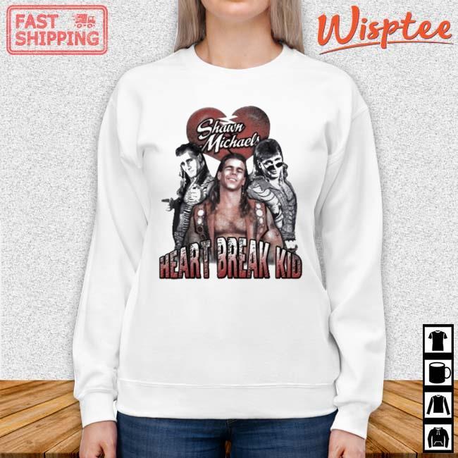 Heart Break Kid Shawn Michaels Vaporware Wrestling WOO Shirt sweater trang