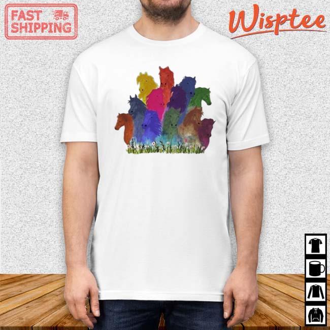 Horse Watercolor Shirt