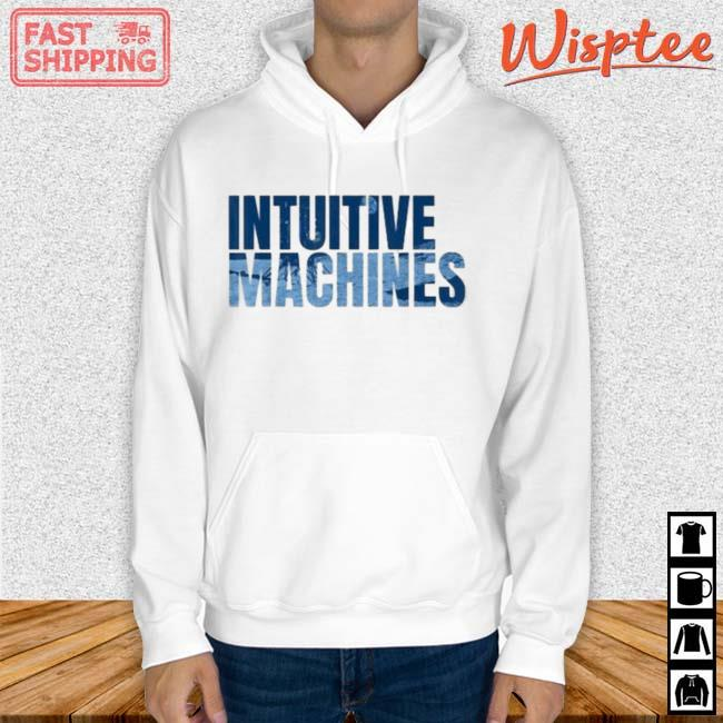 Intuitive Machines Blue Shirt hoodie trang