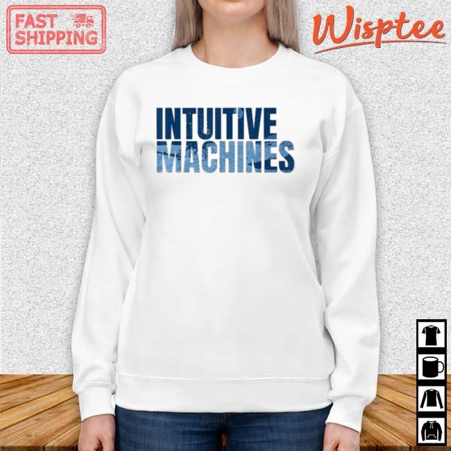 Intuitive Machines Blue Shirt sweater trang