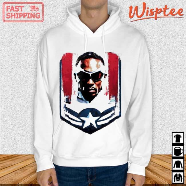 Marvel The Falcon and the Winter Soldier Sam Captain America Shirt hoodie trang