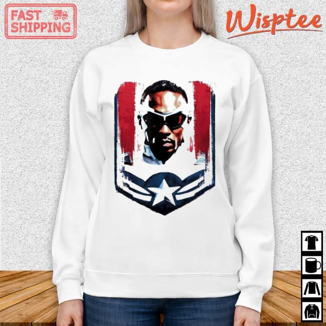 Marvel The Falcon and the Winter Soldier Sam Captain America Shirt sweater trang