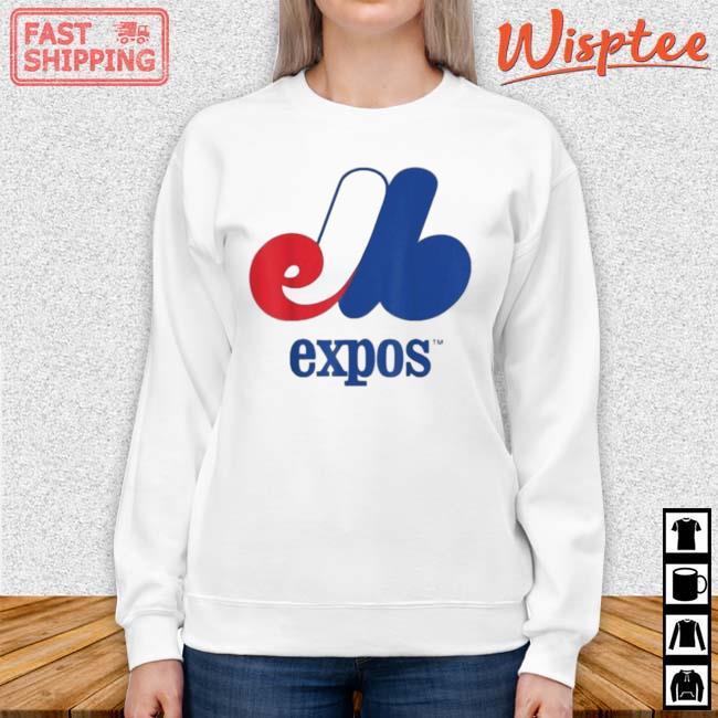 Montreal Expos 2021 Shirt sweater trang