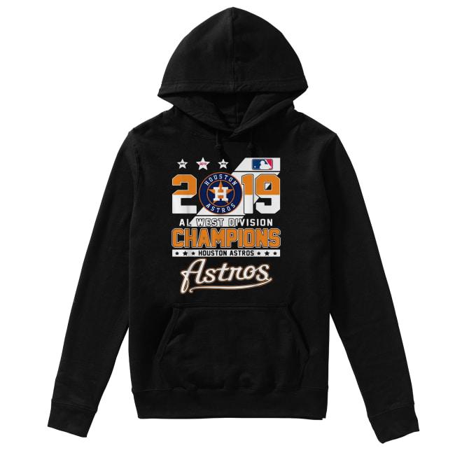 2019 Al west division Champions Houston Astros Unisex Hoodie