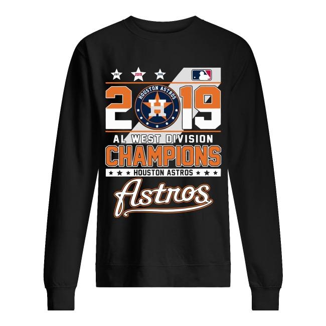 2019 Al west division Champions Houston Astros sweater
