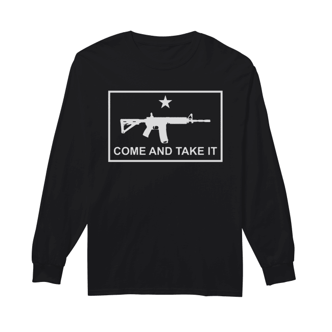 Beto come and take it AR 15 Long Sleeved T-shirt