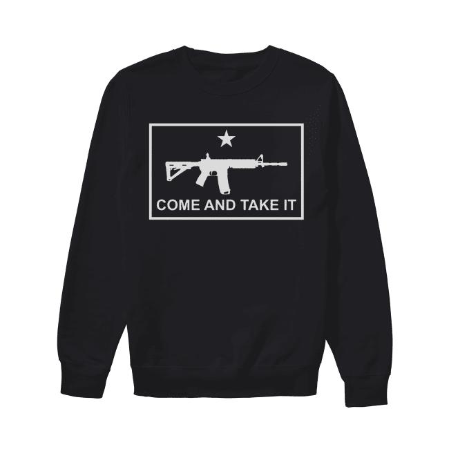 Beto come and take it AR 15 Unisex Sweatshirt