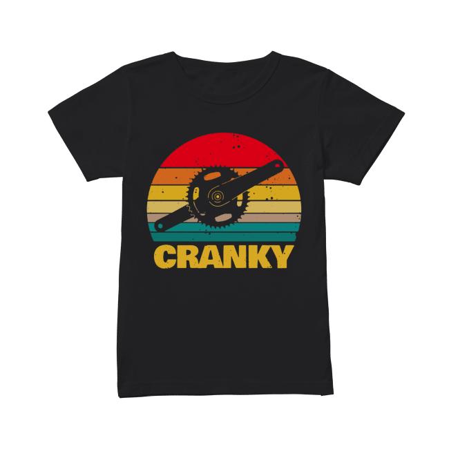 Bicycle Cranky vintage Classic Women's T-shirt