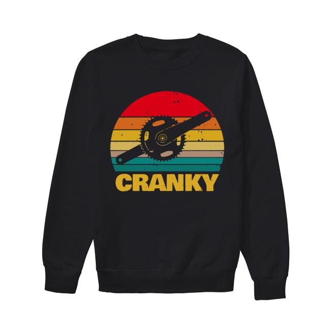 Bicycle Cranky vintage Unisex Sweatshirt