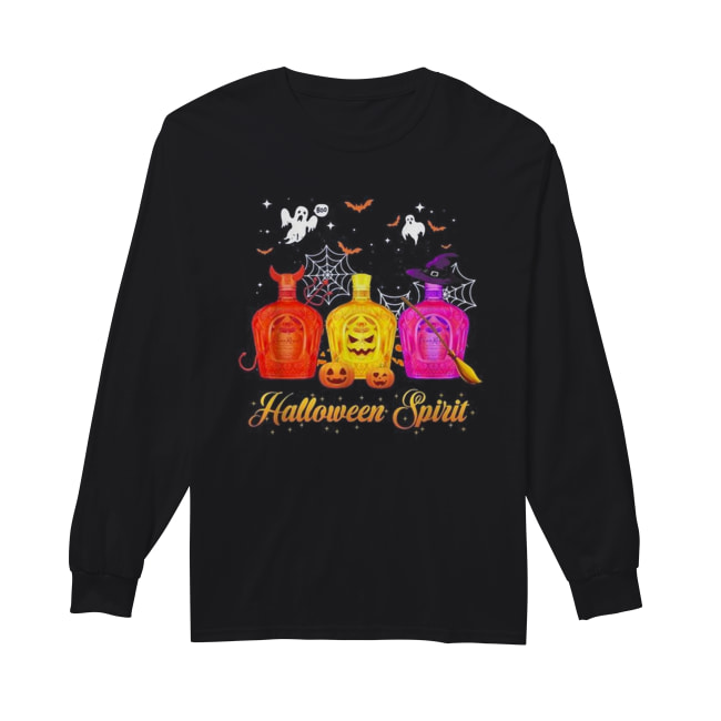 Crown Royal Halloween spirit Long Sleeved T-shirt