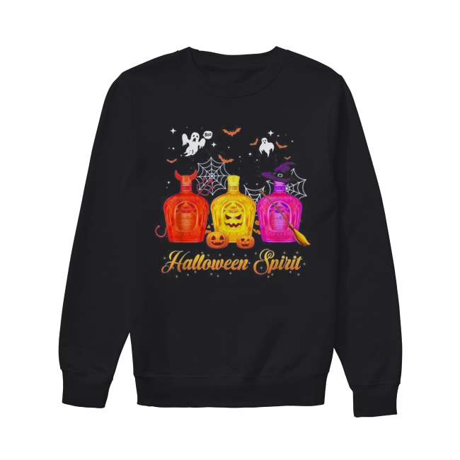 Crown Royal Halloween spirit Unisex Sweatshirt