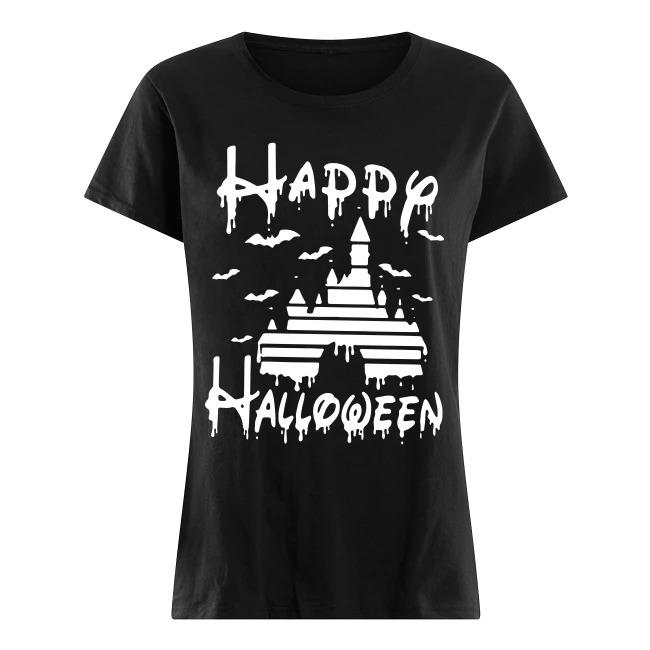 Disney Castle Happy Halloween Shirt
