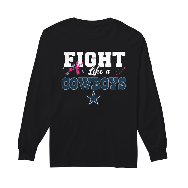 100% authentic c72ba e02be Fight like a Cowboys breast cancer shirt, hoodie, tank top ...