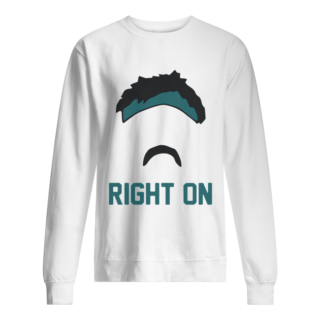 Gardner Minshew right on Unisex Sweatshirt