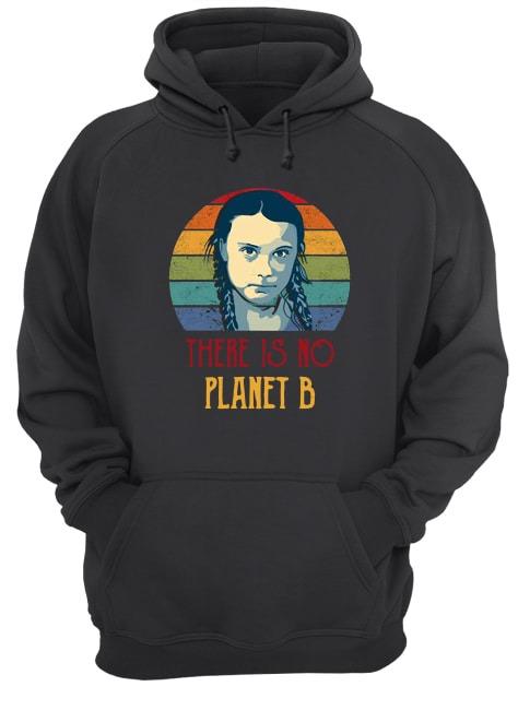 Greta Thunberg There Is No Planet B Sunset Shirt