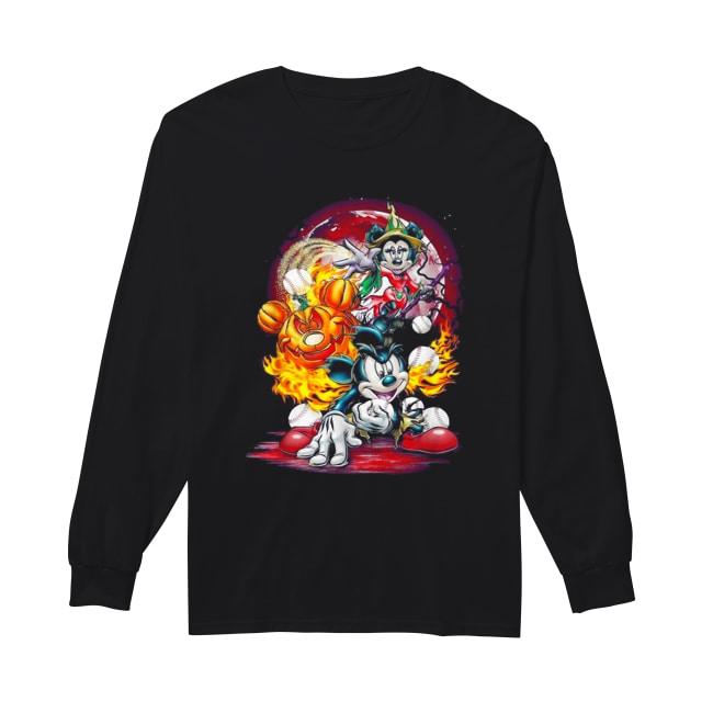 Mickey Zombie PRINTED T-SHIRT tee shirt tshirt art halloween