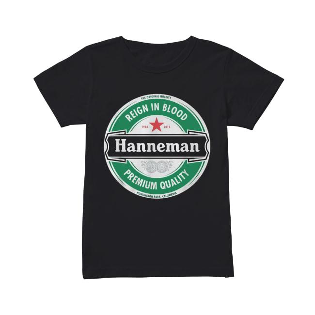 Hanneman Reign in Blood Jeff Hanneman Slayer Premium Quality Classic Women's T-shirt