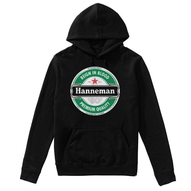 Hanneman Reign in Blood Jeff Hanneman Slayer Premium Quality Unisex Hoodie