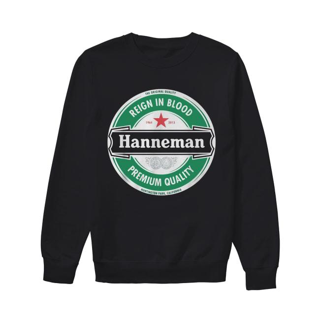 Hanneman Reign in Blood Jeff Hanneman Slayer Premium Quality Unisex Sweatshirt