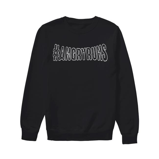 Kyle Brandt #angryruns Shirt Unisex Sweatshirt