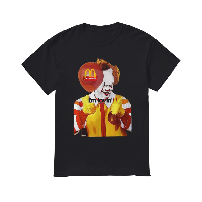 Mcdonald's I'm lovin' IT Pennywise Classic Men's T-shirt