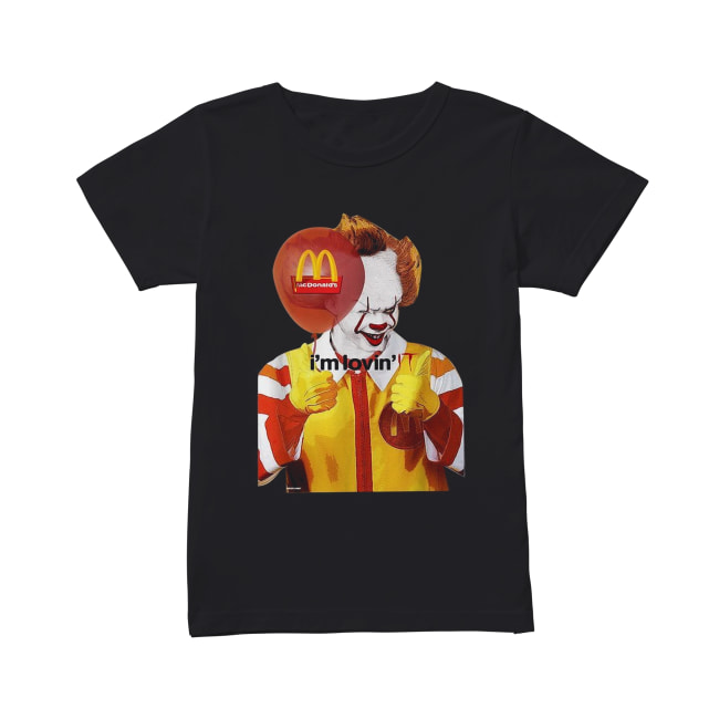 Mcdonald's I'm lovin' IT Pennywise Classic Women's T-shirt