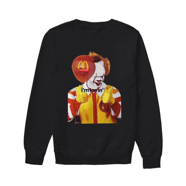 Mcdonald's I'm lovin' IT Pennywise Unisex Sweatshirt