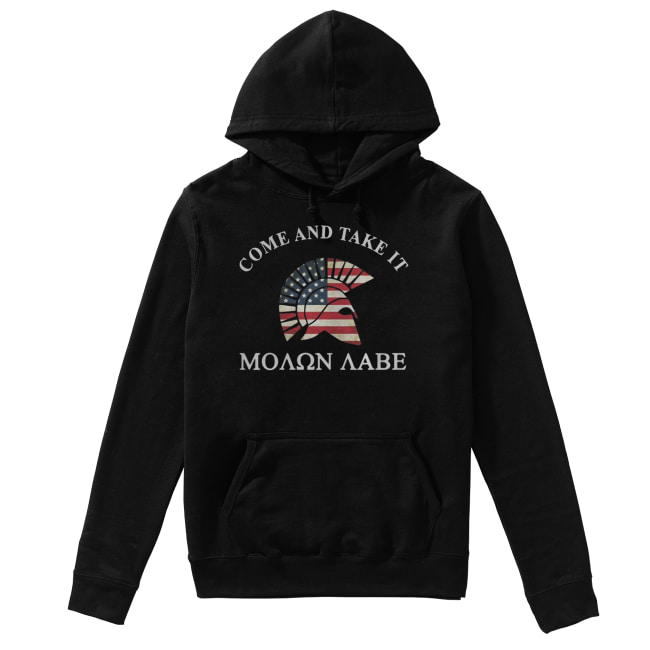Molon Labe Come and take it Unisex Hoodie