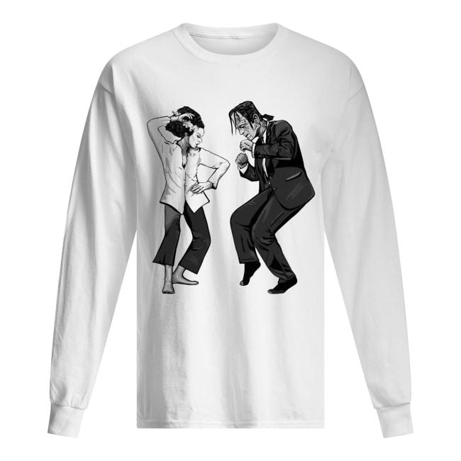 Pulp Frankenstein dance Long Sleeved T-shirt