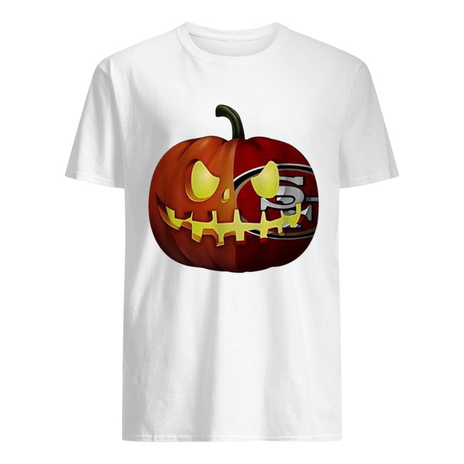 San Francisco 49ers pumpkin Halloween Classic Men's T-shirt