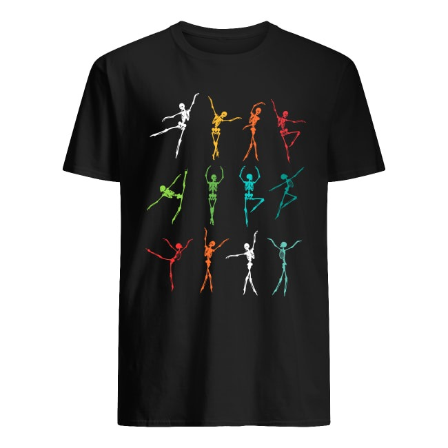 Skeleton Dancing Ballet Halloween Shirt