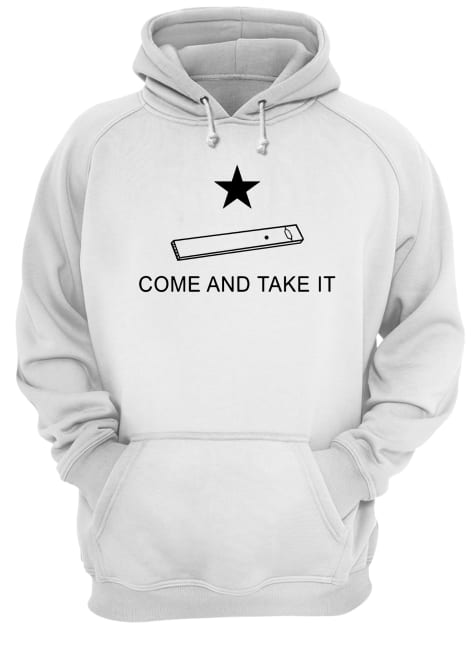 Vape come and take it Unisex Hoodie
