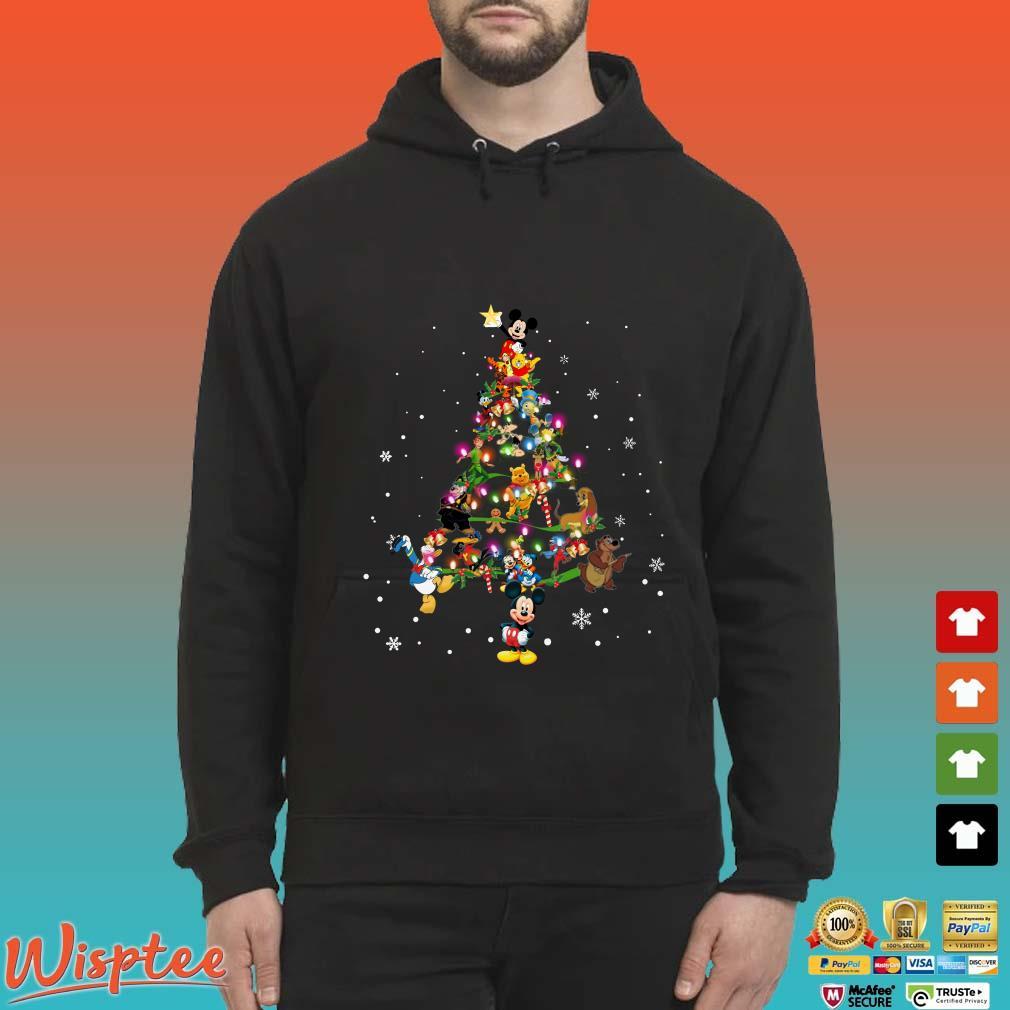 All Disney Christmas Tree Shirt