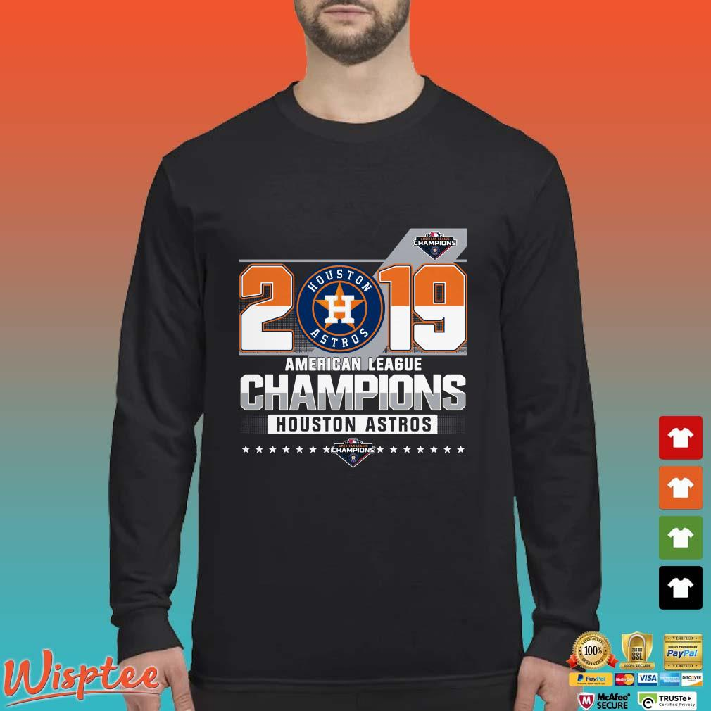 2019 American League Champions Houston Astros Shirt