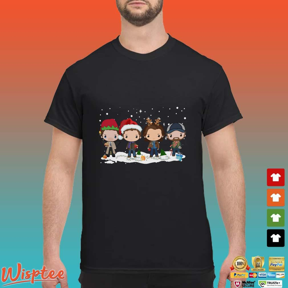 Supernatural Chibi Christmas Shirt