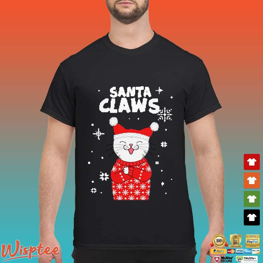 Santa Claws Cat Christmas Shirt
