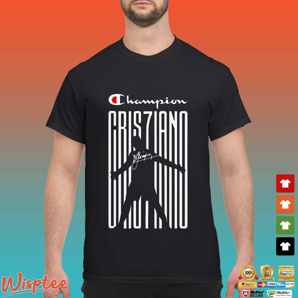 Cristiano Ronaldo Champion Cris7iano Signature shirt