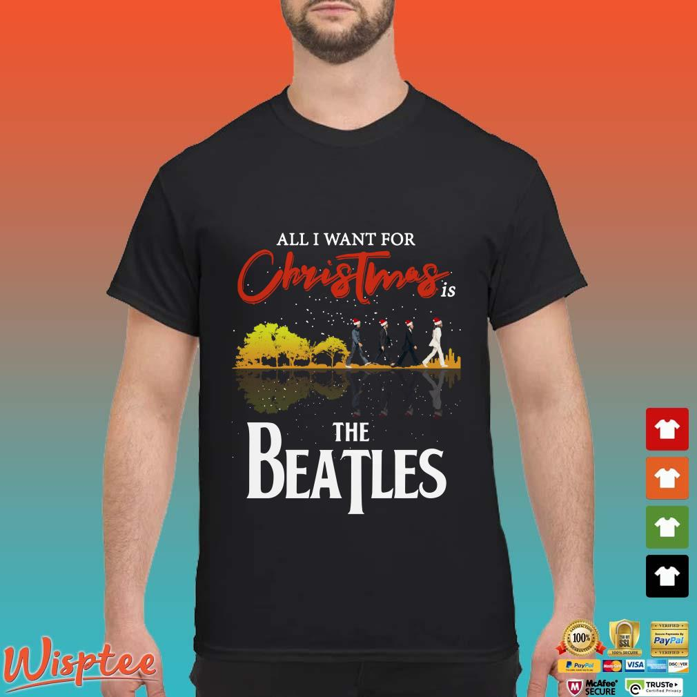 All I Want For Christmas Is Guitar Lake The Beatles Santa Sweater