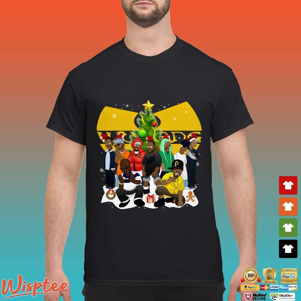 Wu Tang Clan Simpsons Christmas Shirt