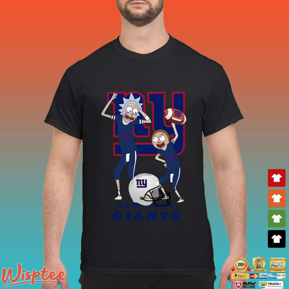 Rick And Morty New York Giants Happy Winner Shirt