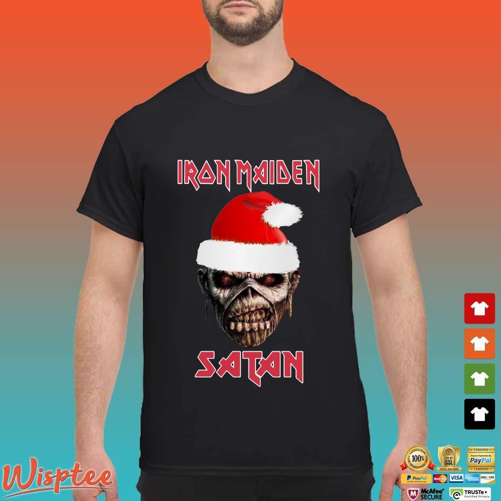 Iron Maiden Satan Christmas ShirtIron Maiden Satan Christmas Shirt