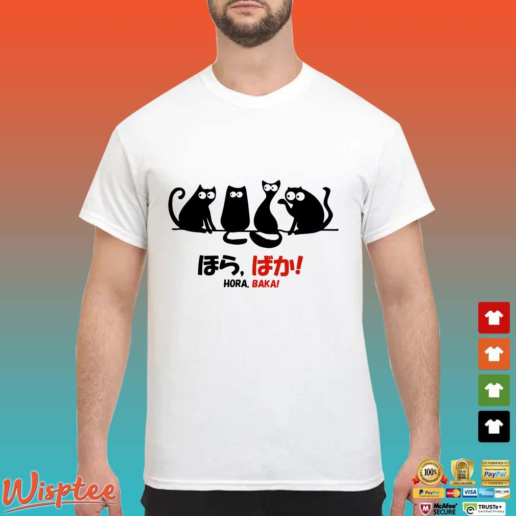 Black Cats Hora Baka Shirt