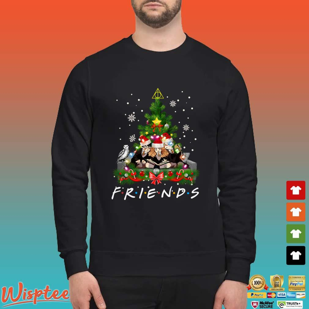 Friends Harry Potter Hermione And Ron Christmas Shirt